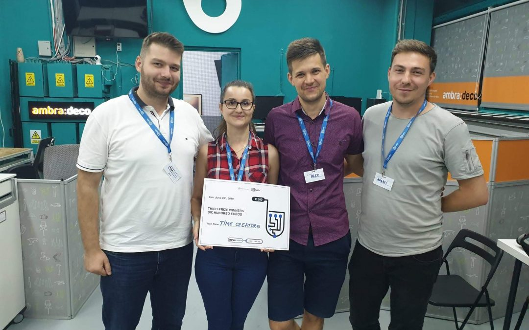 [Guest Post] Time Creators – 3rd place winner of RPA League Iași